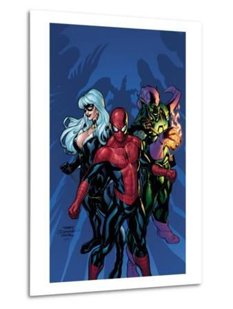 Marvel Knights Spider-Man No.11 Cover: Green Goblin, Spider-Man and Black Cat