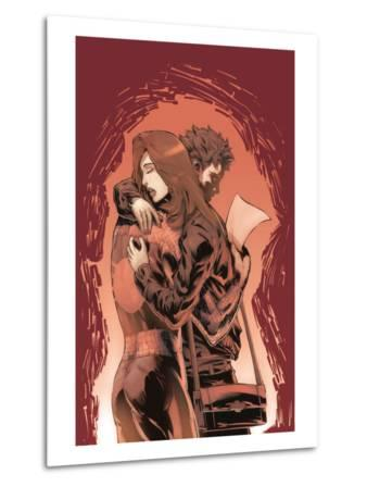 Marvel Knights Spider-Man No.19 Cover: Spider-Man, Mary Jane Watson, and Peter Parker