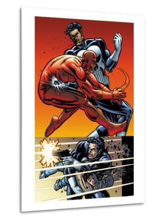 Daredevil Vs. Punisher No.5 Cover: Daredevil and Punisher
