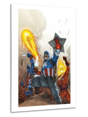The New Invaders No.2 Cover: Captain America