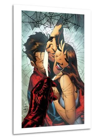 The Amazing Spider-Man No.545 Cover: Spider-Man, Peter Parker, and Mary Jane Watson