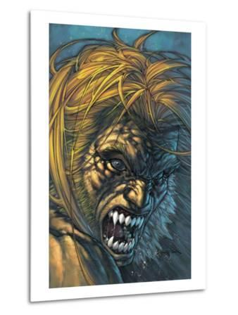 Weapon X No.28 Cover: Sabretooth Fighting