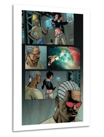 Ultimate X-Men No.84 Headshot: Bishop and Dazzler