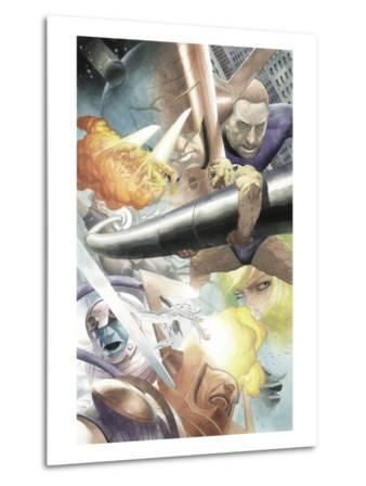 Silver Surfer: Requiem No.1 Group: Silver Surfer, Galactus, Mr. Fantastic, Thing and Human Torch