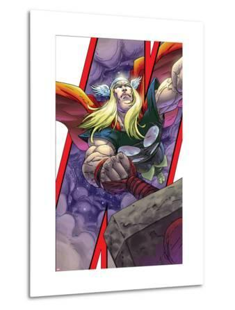 Avengers: Earths Mightiest Heroes No.3 Cover: Thor and Mjolnir