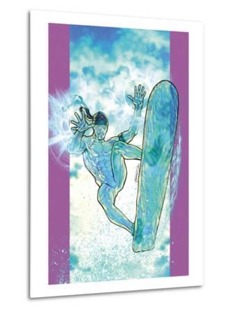 Ultimate X-Men No.48 Cover: Iceman