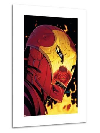 Hulk No.2 Cover: Iron Man and Hulk