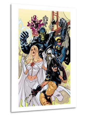 Secret Invasion: X-Men No.1 Cover: X-23 and Emma Frost