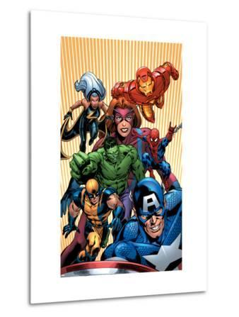 Marvel Two-In-One No.14 Cover: Avengers and X-Men