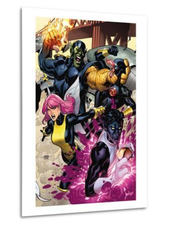 Secret Invasion: X-Men No.2 Cover: Pixie, Nightcrawler and Cyclops