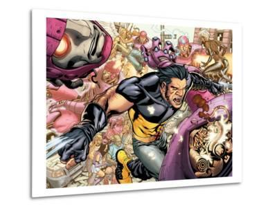 Ultimate X-Men No.85 Group: Storm, Wolverine and Sentinel