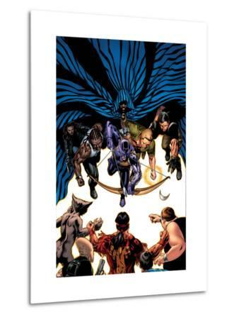 House Of M: Avengers No.5 Cover: Hawkeye, Cage, Luke, Iron Fist and Cloak