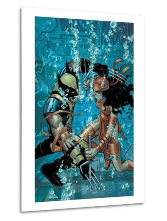 Wolverine No.21 Cover: Wolverine and Elektra