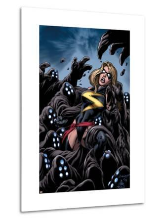 The Mighty Avengers No.11 Cover: Ms. Marvel