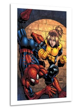 Marvel Age Spider-Man Team Up No.3 Cover: Spider-Man and Shadowcat