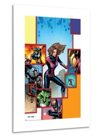 Marvel Adventures Avengers No.27 Cover: Giant-Girl