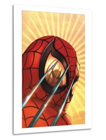 Marvel Age Team Up No.2 Cover: Spider-Man and Wolverine Charging