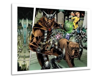 Realm of Kings Inhumans No.4 Group: Gorgon, Lockjaw, Ronan the Accuser and Crystal