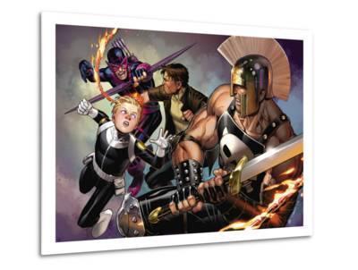 Secret Warriors No.8 Cover: Ares and Phobos