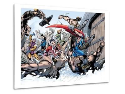 Thor: Truth Of History No.1 Group: Thor, Sif and Balder