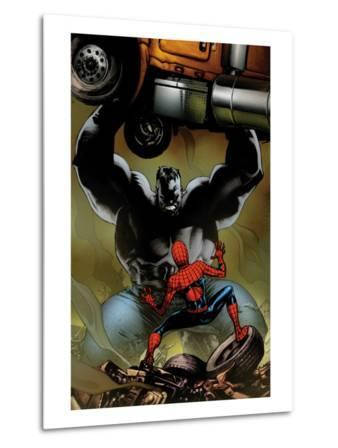 Ultimate Spider-Man No.131 Cover: Spider-Man and Hulk