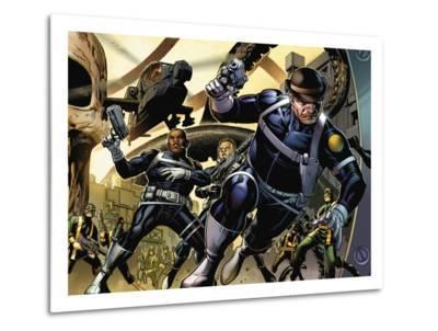 Secret Warriors No.4 Cover: Dugan and Dum Dum