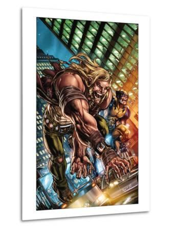 Weapon X: First Class No.1 Cover: Sabretooth and Wolverine