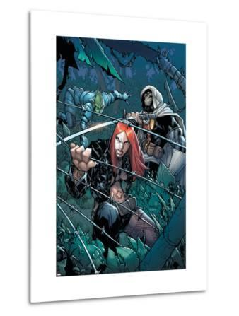 Avengers: The Initiative No.24 Cover: Typhoid Mary, Task Master and Komodo