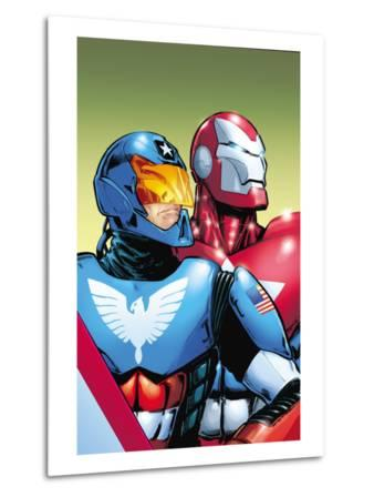 The Amazing Spider-Man No.599 Cover: American Son and Iron Patriot