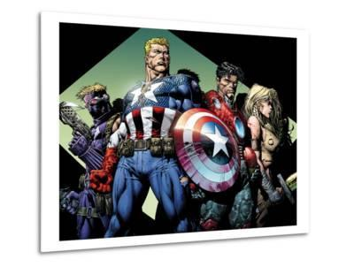 Ultimatum No.3 Group: Captain America, Hawkeye, Iron Man and Valkyrie