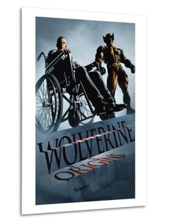 Wolverine: Origins No.30 Cover: Xavier, Charles and Wolverine