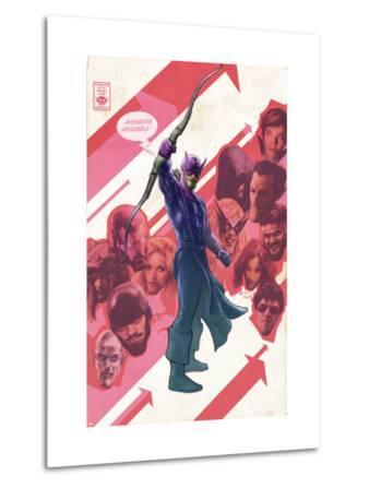New Avengers No.47 Cover: Hawkeye
