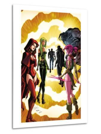 Exiles No.3 Cover: Scarlet Witch, Polaris and Blink