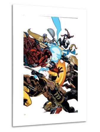 New Avengers No.56 Cover: Wolverine, Daken, Captain America and Iron Patriot