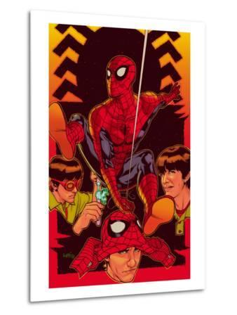 Spider-Man: With Great Power&No.5 Cover: Spider-Man, Peter Parker
