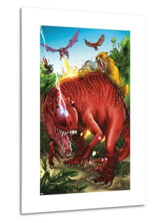 Lockjaw and the Pet Avengers No.2 Group: Devil Dinosaur, Zabu, Red Wing and Lockheed