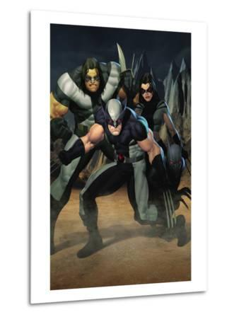 Cable No.7 Group: Wolverine, X-23, Warpath and Wolfsbane