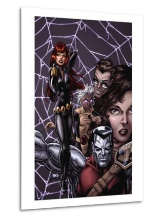 X-Men Forever No.12 Cover: Black Widow, Colossus and Storm
