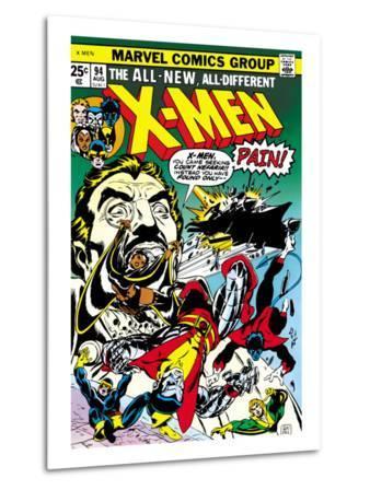 Marvel Comics Retro: The X-Men Comic Book Cover No.94, Colossus, Nightcrawler, Cyclops, Banshee