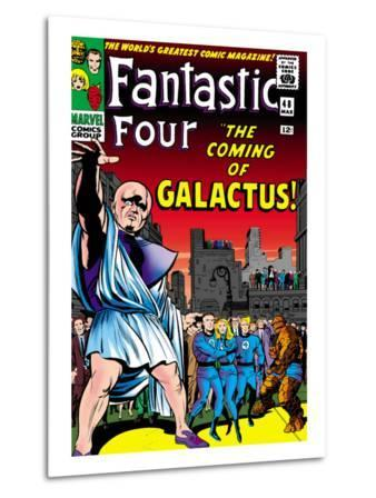 Marvel Comics Retro: Fantastic Four Family Comic Book Cover No.48, The Coming of Galactus