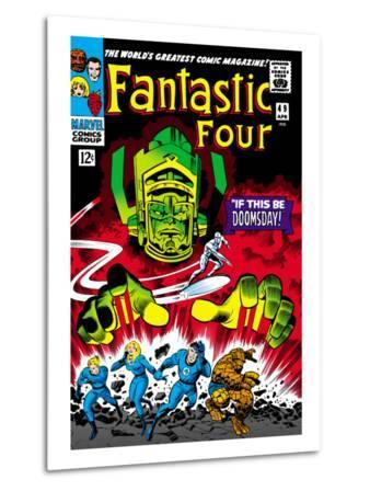 Marvel Comics Retro: Fantastic Four Family Comic Book Cover No.49, If This Be Doomsday!