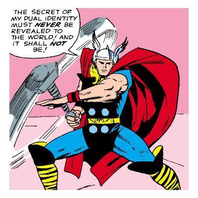 Marvel Comics Retro: Mighty Thor Comic Panel