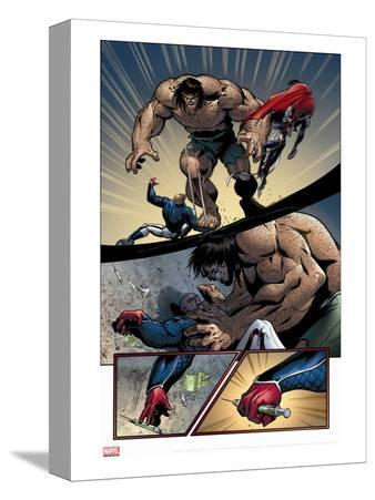 Young Avengers No.8 Group: Mr. Hyde, Patriot and Young Avengers