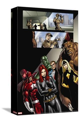 Civil War: House Of M No.2 Group: Black Widow, Darkstar and Red Guardian