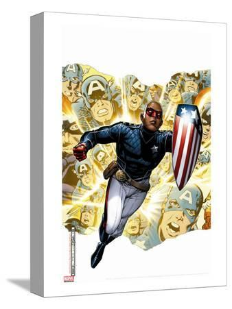 Young Avengers Presents No.1 Cover: Patriot
