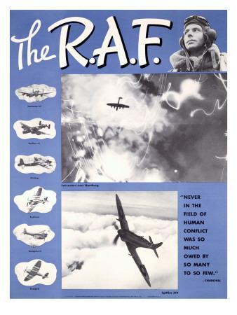 WWII RAF Spitfire Pilots Recruiting
