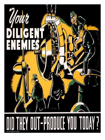 Your Diligent Enemies Production Poster