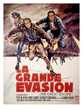 Steve McQueen The Great Escape Poster