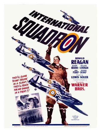 Ronald Reagan Squadron Movie Poster