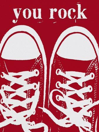 You Rock Red Sneakers